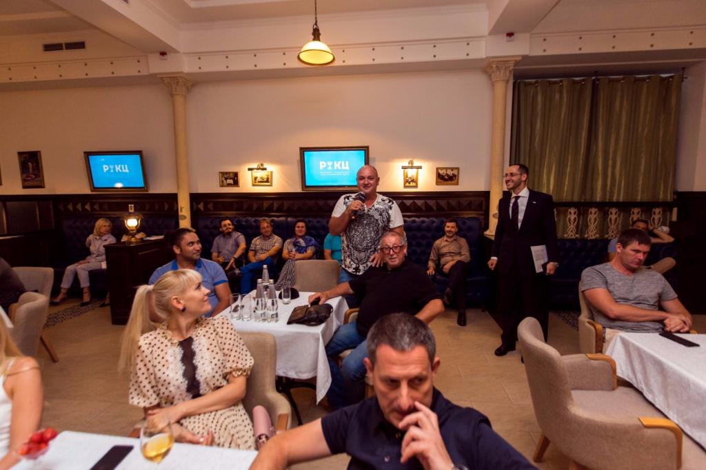 РИКЦ выступил генеральным спонсором на Деловом вечере, организованным клубом SOLOMON.help