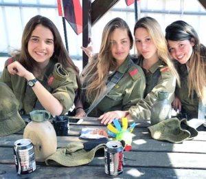 израиль армия девушки